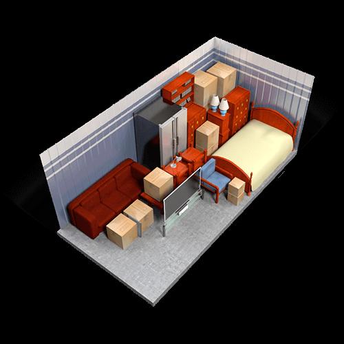Superb 10x20 Storage Unit